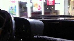 Смотреть На машине по торговому центру