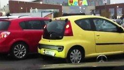 Смотреть Две мымры на парковке