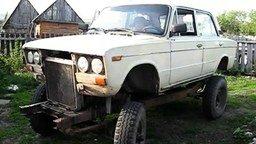 Смотреть УАЗик с кузовом от шестёрки