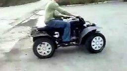 Смотреть Квадроцикл-самоделка