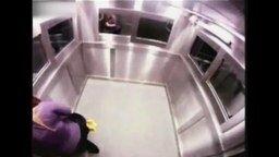 Смотреть Экстремальный розыгрыш в лифте