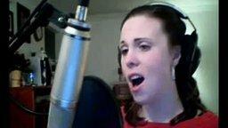 Смотреть Девушка поёт, как в Пятом элементе