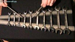 Смотреть Металлофон из рожковых ключей