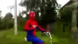 Наш человек-паук смотреть видео прикол - 0:09