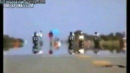Провалы на мотоциклах смотреть видео прикол - 4:19