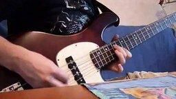 Смотреть Красивая партия бас-гитары