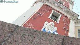 Опа, Дед Мороз смотреть видео прикол - 1:09