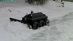Смотреть Умный уборщик снега