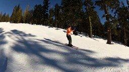 Смотреть Лыжник с тромбоном