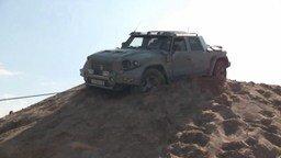 Смотреть Комбат на песке