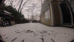 Смотреть Завалило снежком