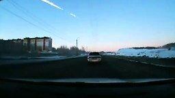 Смотреть Взрыв метеорита над Челябинском