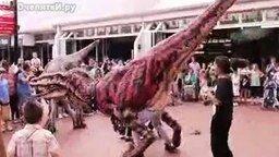 Настоящие динозавры смотреть видео - 2:06