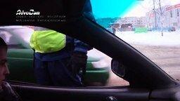 Продуманный водитель, тонировка и ДПС смотреть видео прикол - 3:37