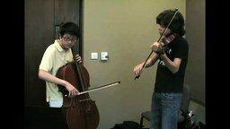 Смотреть Let It Be на скрипке и виолончели