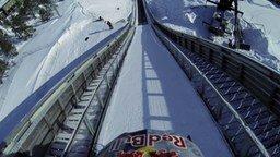 Мой самый крутой прыжок на снегоходе смотреть видео - 1:26