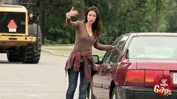 Маленькая автомобильная трагедия смотреть видео прикол - 1:50