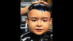 Страшный мальчик-робот смотреть видео - 1:40