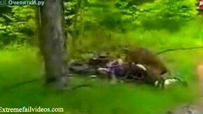 Лучшее - атакующие и падающие животные смотреть видео прикол - 4:08