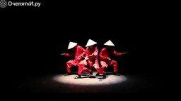 Прикольный азиатский танец смотреть видео - 1:52