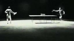 А вам слабо сыграть нунчаками в настольный теннис? смотреть видео - 1:05