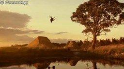 Смотреть Красивая нарезка трюков на BMX