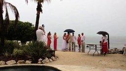 Смотреть Суровый знак во время свадьбы