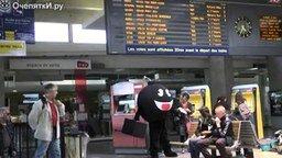 Человек-бомба и его шутки смотреть видео прикол - 1:34