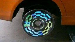 Смотреть Крутой светящийся диск