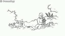 Кот Саймона - Ямка для цветов смотреть видео прикол - 0:50