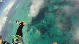 Смотреть Чумовой прыжок в бездну