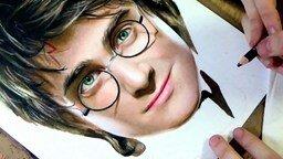 Смотреть Рисуем Гарри Поттера