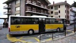 Как развернуть автобус смотреть видео прикол - 0:44