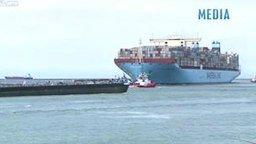 Огромнейший в мире корабль смотреть видео прикол - 2:00