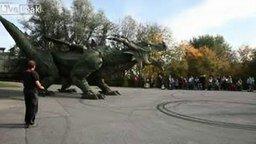 Робот-дракон смотреть видео - 7:05