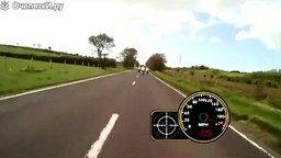 Смотреть Мотоциклисты несутся 320 км/ч
