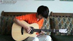 Игры престолов на акустической гитаре смотреть видео - 3:06