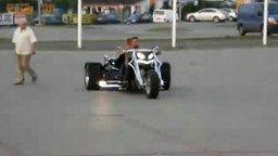 Устрашающий мотоцикл смотреть видео прикол - 1:31