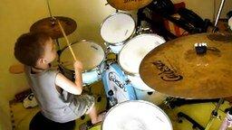 Пятилетний барабанщик смотреть видео прикол - 2:48