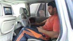 Смотреть Nissan Patrol с рулём сзади