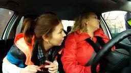 Весёлые дамы и хамоватый ГАИшник смотреть видео прикол - 5:03