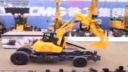 Чудо трактор-трансформер смотреть видео прикол - 2:08