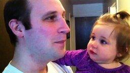 Смотреть Дочка потеряла папину бороду
