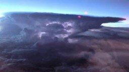 Гроза - вид с высоты смотреть видео - 1:19