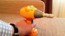 Смотреть Смешная игрушка дрель