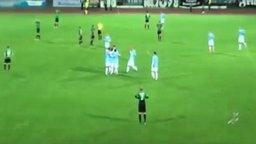 Вратарь замечтался смотреть видео - 0:23