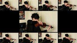 Skyrim - кавер-версия на скрипке смотреть видео - 3:21