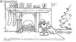 Смотреть Рождественское представление от кота Саймона - 1