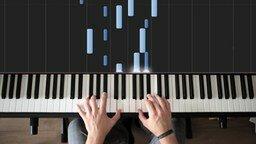Смотреть Завораживающая игра на пианино