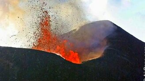 Извержение вулкана на Камчатке смотреть видео - 2:25